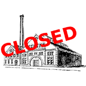 Closed factory