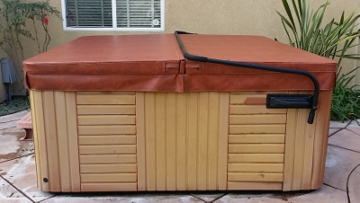 Replace hot tub cover
