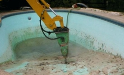 Concrete and plaster swimming pools can be damaged by low pH